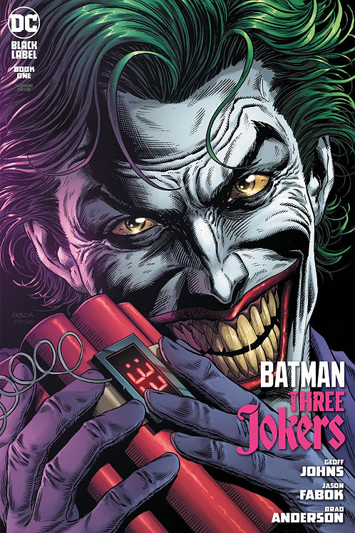 Batman Three Jokers #1 Joker Bomb Premium Variant