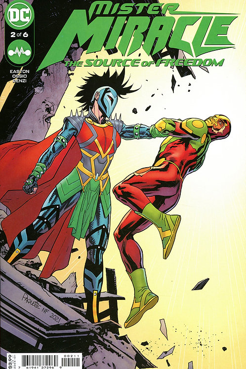 Mister Miracle The Source Of Freedom #2