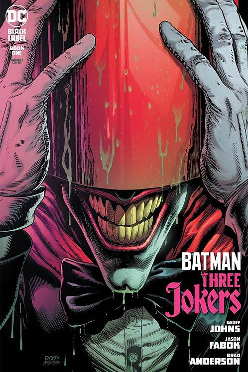 Batman Three Jokers #1 Red Hood Premium Variant