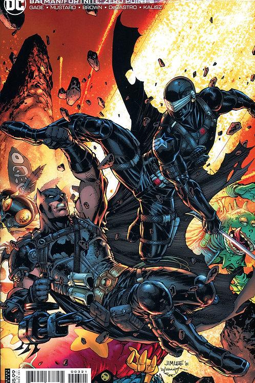 Batman Fortnite Zero Point #3 Jim Lee Variant