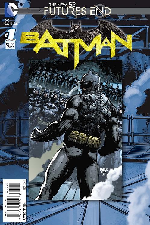 Batman Futures End #1 Lenticular Cover