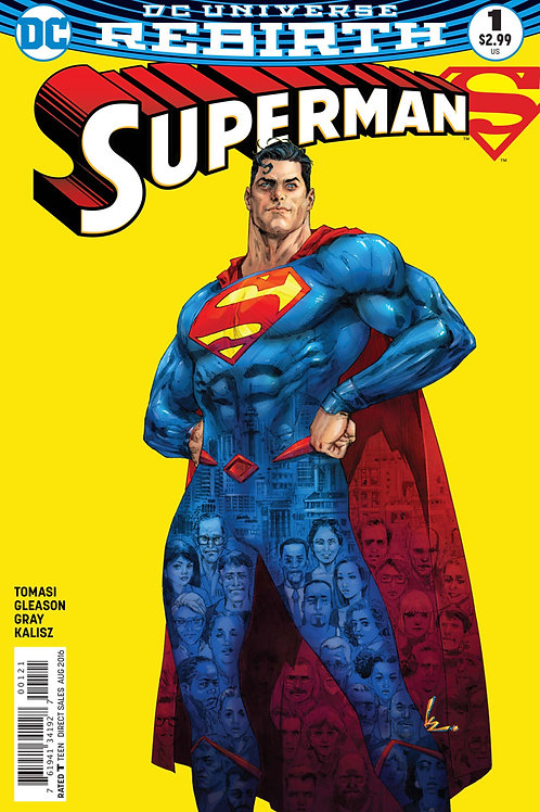 Superman #1 Kenneth Rocafort Variant