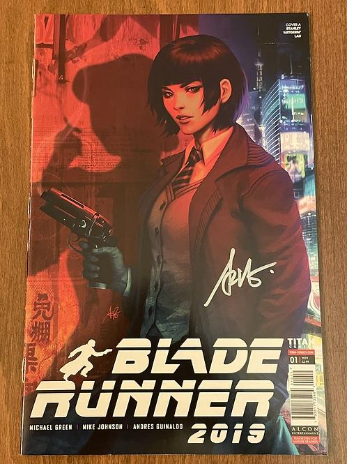 Blade Runner 2019 #1 Artgerm İmzalı
