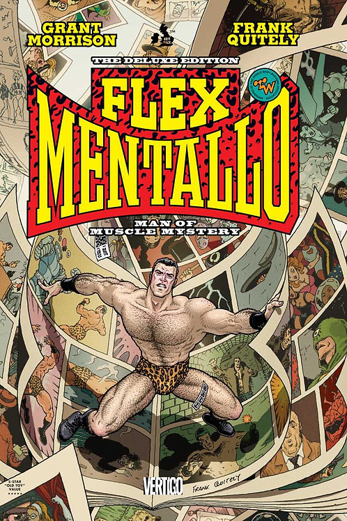 Flex Mentallo: Man of Muscle Mystery Deluxe Edition HC