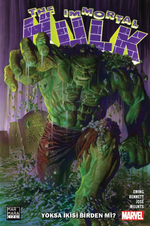 Immortal Hulk Cilt 1 Yoksa İkisi Birden Mi?