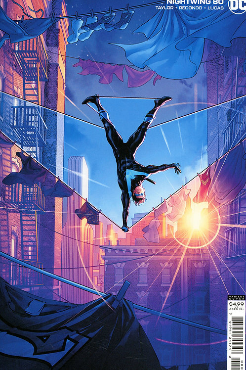 Nightwing #80 Jamal Campbell Variant