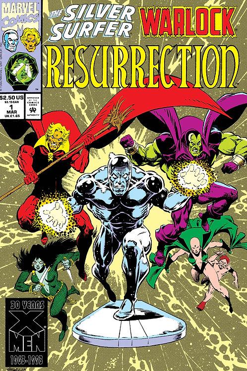 Silver Surfer/Warlock: Resurrection #1