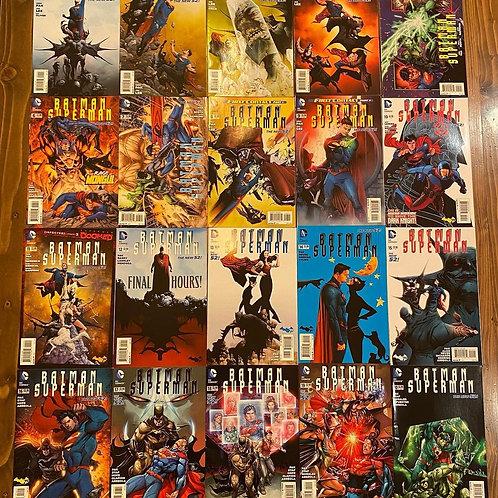Batman Superman New 52 #1-20 Set