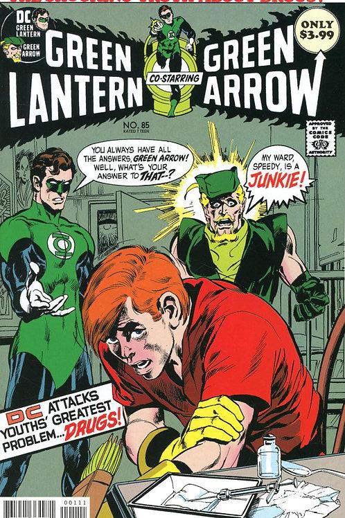 Green Lantern Green Arrow #85 (2019) Facsimile Edition