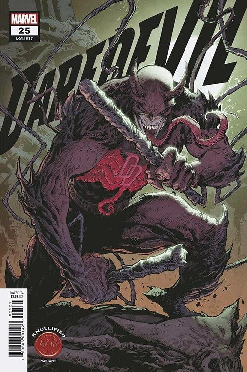 Daredevil #25 Ken Lashley Knullified Variant