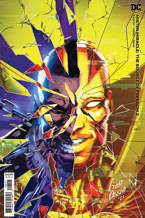 Mister Miracle The Source Of Freedom #2 Fico Ossio Variant