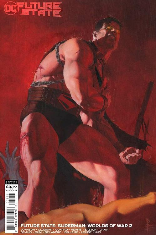 Future State Superman Worlds of War #2 Riccardo Federici Variant