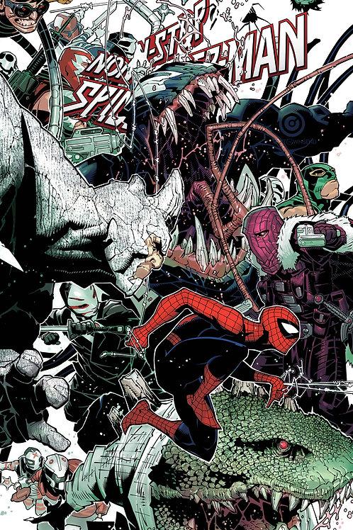 Non-Stop Spider-Man #1 Bachalo Wraparound Variant