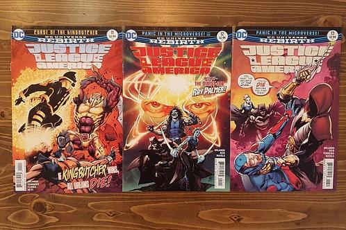 Justice League of America #11-12-13 Set