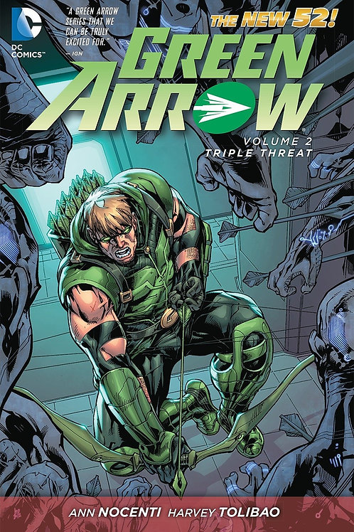 Green Arrow Volume 2 Triple Threat