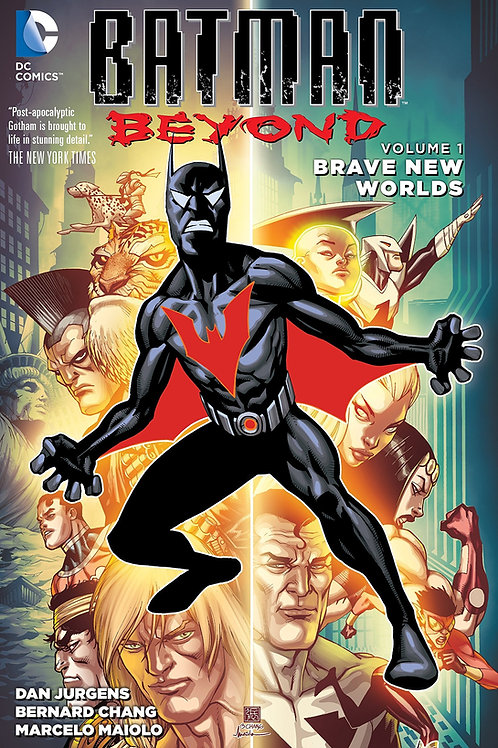 Batman Beyond Volume 1 Brave New Worlds