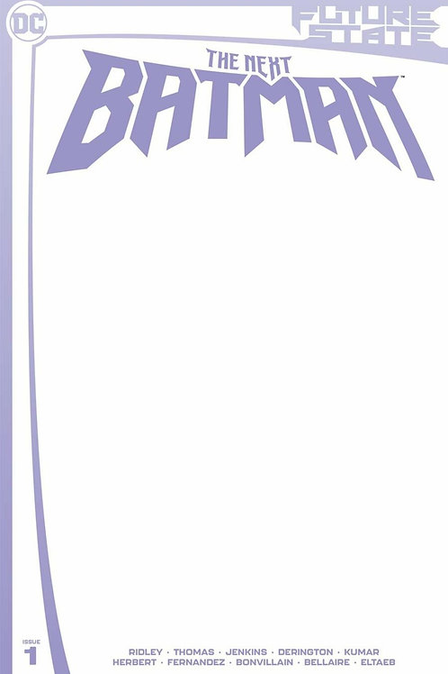 Future State The Next Batman #1 Blank Cover
