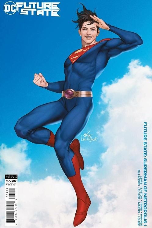 Future State Superman of Metropolis #1 In-Hyuk Lee Variant