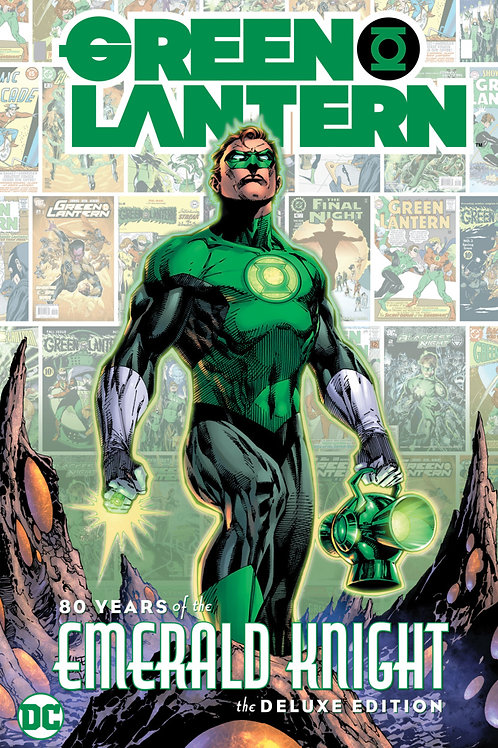 Green Lantern 80 Years of the Emerald Knight Deluxe Edition HC