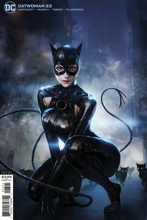 Catwoman #23 Woo Chul Lee Variant