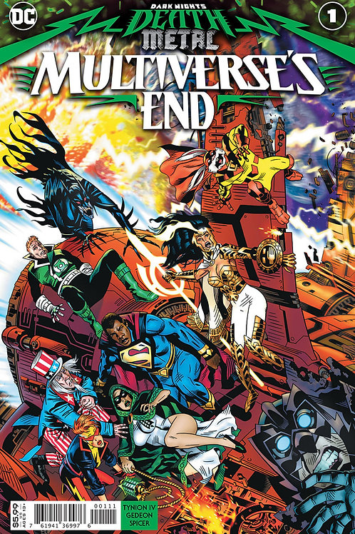 Dark Nights: Death Metal Multiverse's End #1