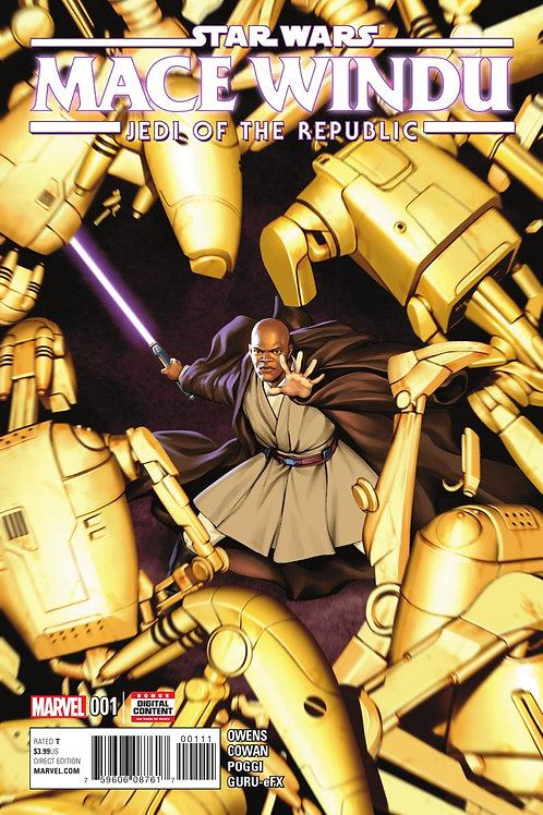 Star Wars Mace Windu: Jedi of the Republic #1