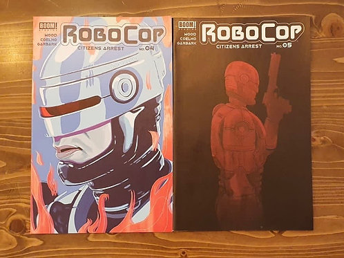Robocop #4-5 Set