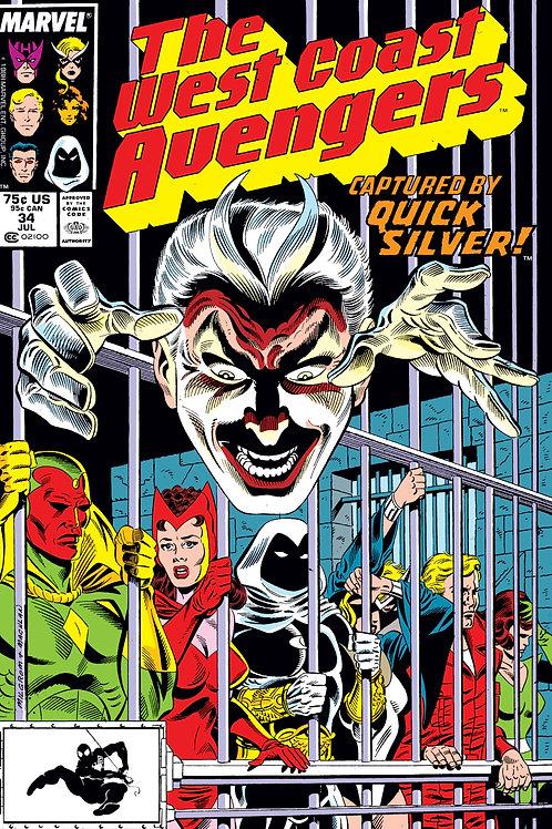 Avengers West Coast #34