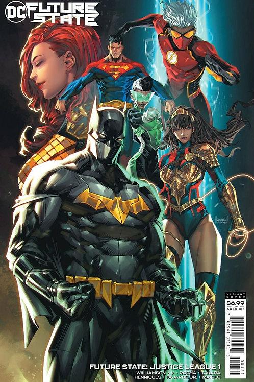 Future State Justice League #1 Kael Ngu Variant