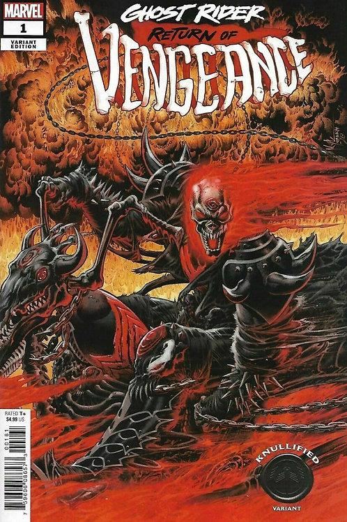 Ghost Rider: Return of Vengeance #1 Kyle Hotz Knullified Variant