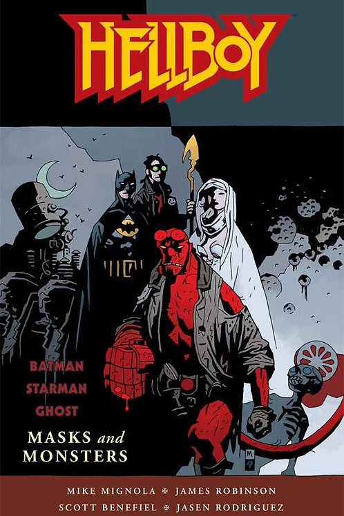 Hellboy Masks and Monsters