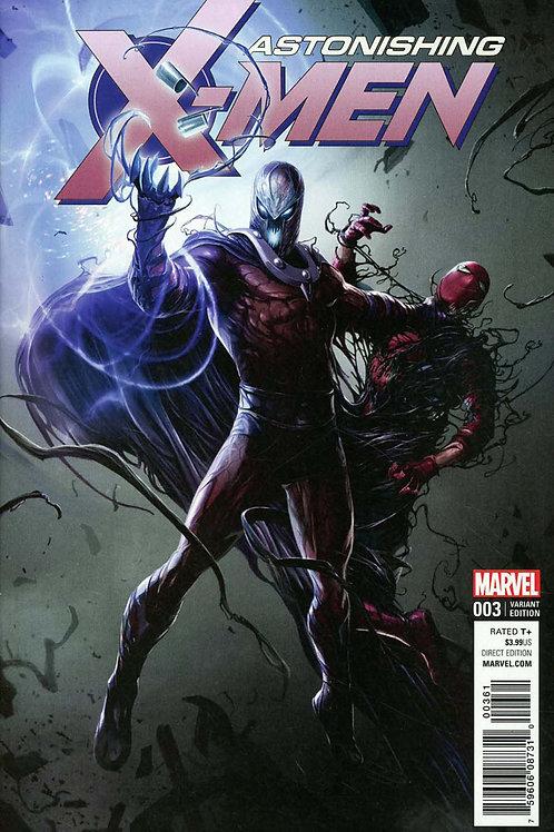 Astonishing X-Men #3 Francesco Mattina Venomized Variant