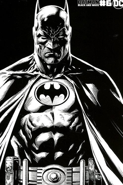 Batman Black & White #6 Jason Fabok Variant