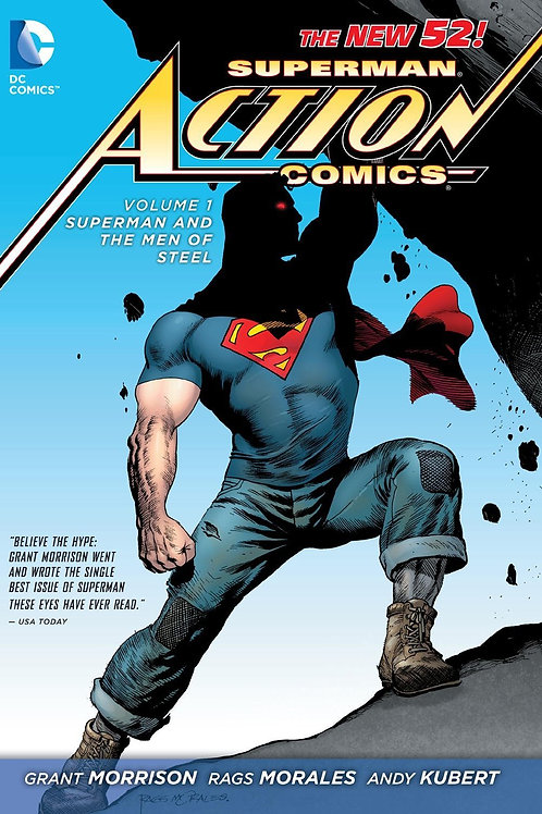 Action Comics Volume 1 Superman and the Men of Steel