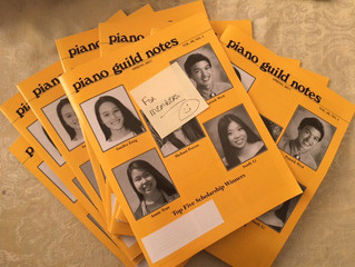【 Piano Guild Notes: Spring 2017 Vol.66 No.4 】