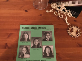 《 Piano Guild Note Spring 2019, Vol68.No.4 》