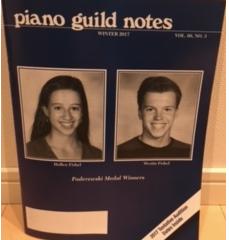 『Piano Guild Notes : Winter 2017, Col.66, No.3』