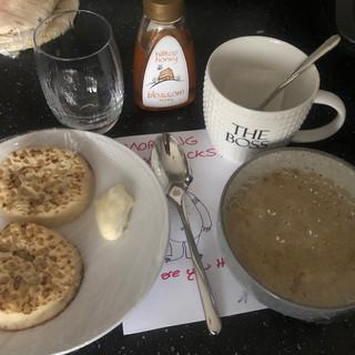 Slow Cooker Porridge & Muffins