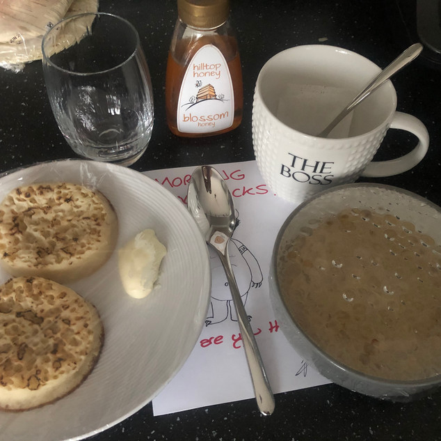 Slow Cooker Porridge & Muffins
