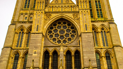 truro cathedral front