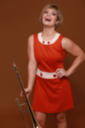 Aubrey Logan. Jazz artist, vocalist, songwriter, trombone player, singer. #1 selling Billboard artist.