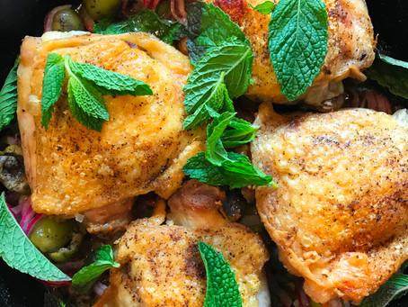 Alison Roman's Skillet Chicken