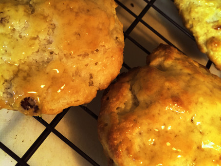 Lemon-Buttermilk Biscuit Scones