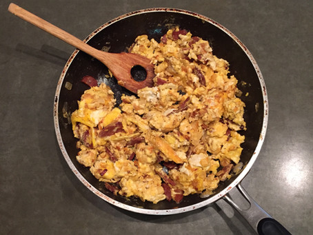 Huevos y Chorizos