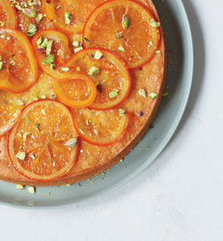 Olive Oil Cake with CandiedOranges