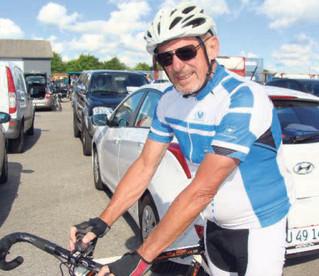 Cykelløb i døgndrift for syge børn