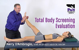 Pre-registration  IBA Total Body Screening Evaluation by Dr Kerry D'Ambrogio
