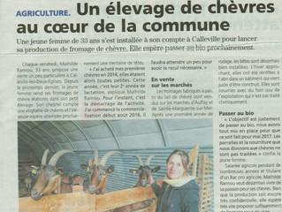 Article de Presse Locale !