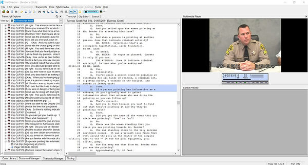 Video Transcripts syncing and clip creat