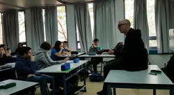 רוני פיטרסון בגימנסיה נבון